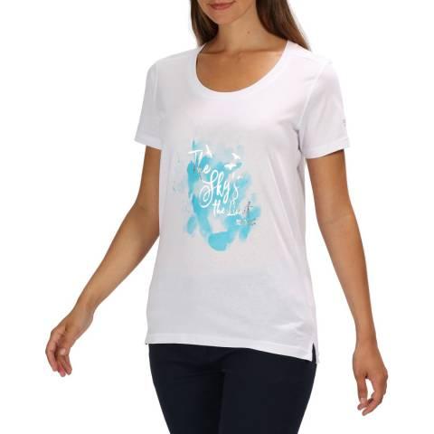 Regatta White/Silver Filandra III T-Shirt