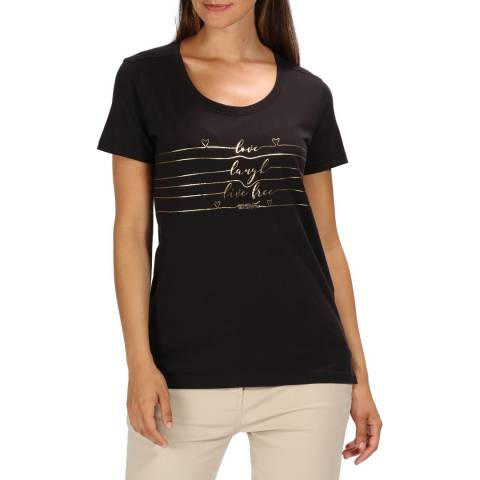 Regatta Black Filandra III T-Shirt