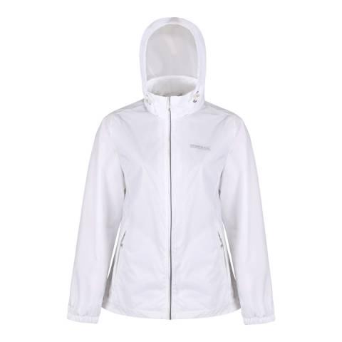 Regatta White Corinne IV Waterproof Shell Jacket