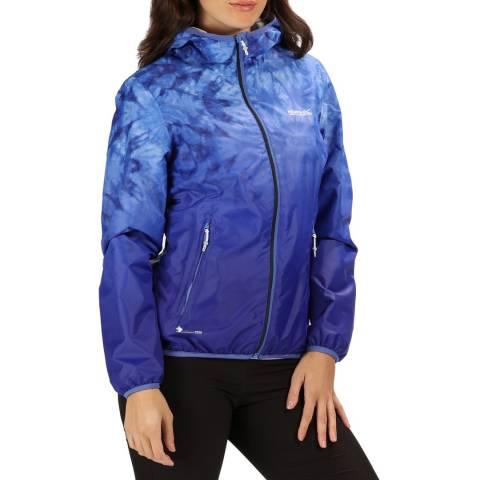 Regatta Blue Leera III Waterproof Shell Jacket