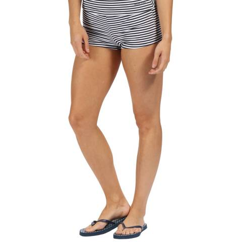 Regatta Navy Stripe Aceana Bikini Shorts