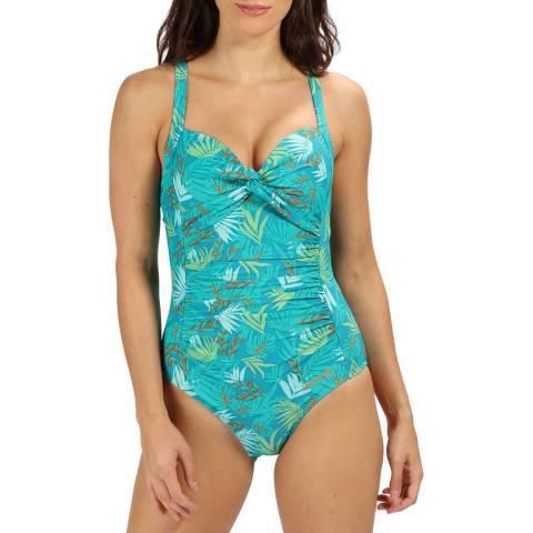 Regatta Sea Blue Sakari Swimming Costume