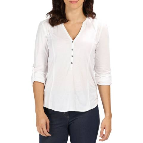 Regatta White Fiorella Top