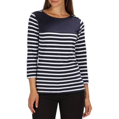 Regatta Navy Stripe Pandara T-Shirt