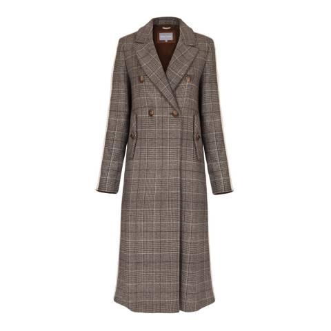 Grace & Oliver Chestnut Wool Blend Nancy Coat