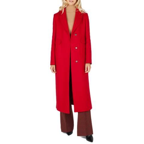 Grace & Oliver Red Wool Blend Pandora Coat