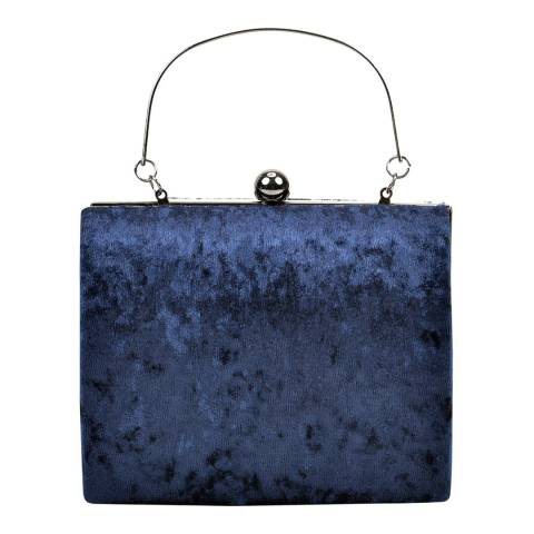 Anna Luchini Blue Clutch Bag