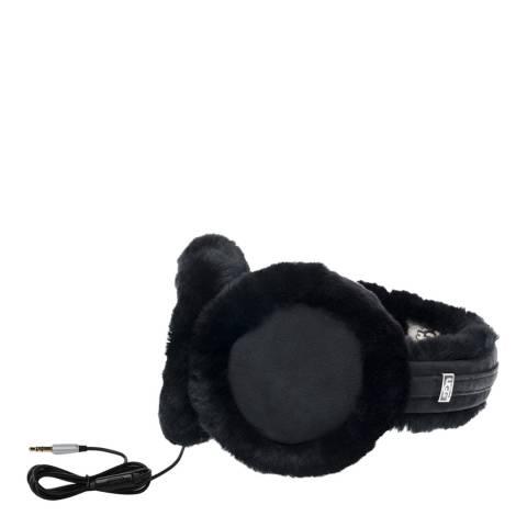 UGG Black Wired Sheepskin Earmuff