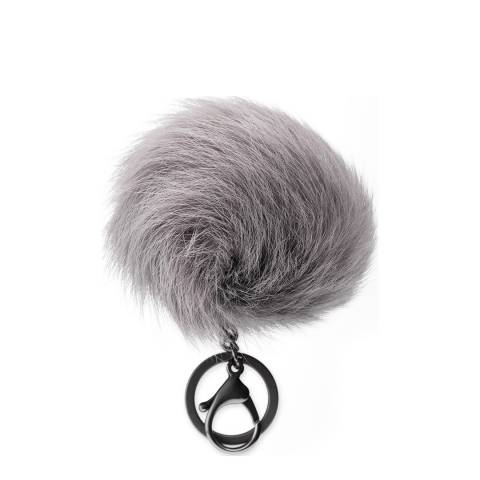UGG Grey Toscana Pom Charm with Crystal