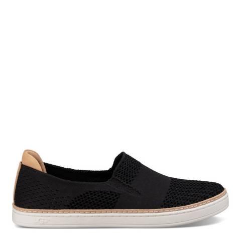 UGG Black Soft Knit Sammy Sneakers
