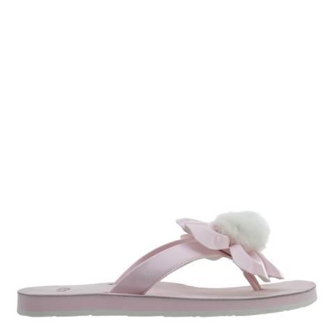 UGG Pastel Pink Poppy Flip Flops