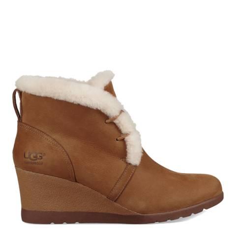 UGG Chestnut Jeovana Ankle Boot