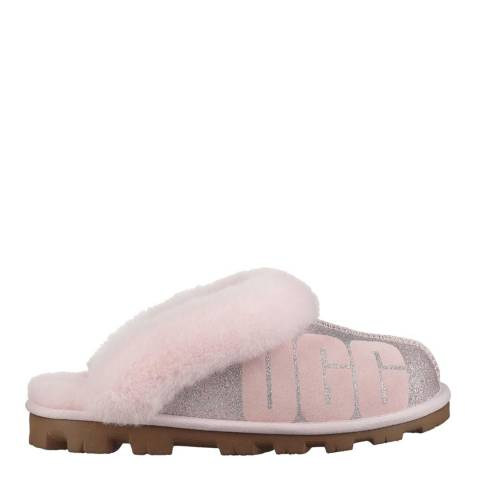 UGG Seashell Pink Coquette Sparkle Slipper
