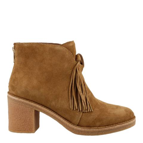 UGG Chestnut Corin Block Heel Ankle Boot