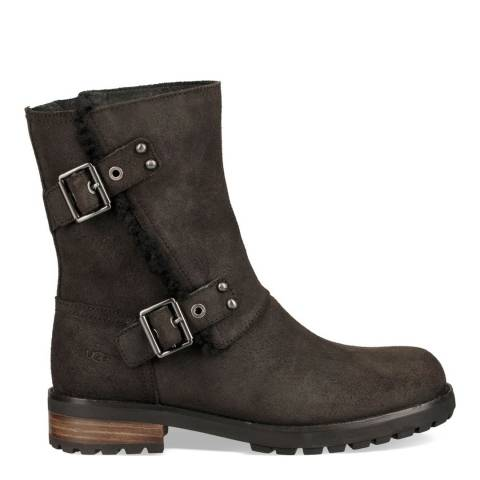 UGG Black Niels II Ankle Boot