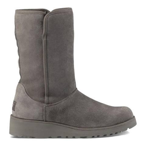 UGG Grey Amie Classic Slim Short Boot