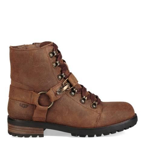 UGG Chestnut Fritzi Lace Up Hiker Boot