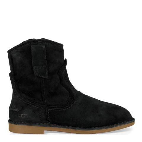 UGG Black Catica Western Ankle Boot