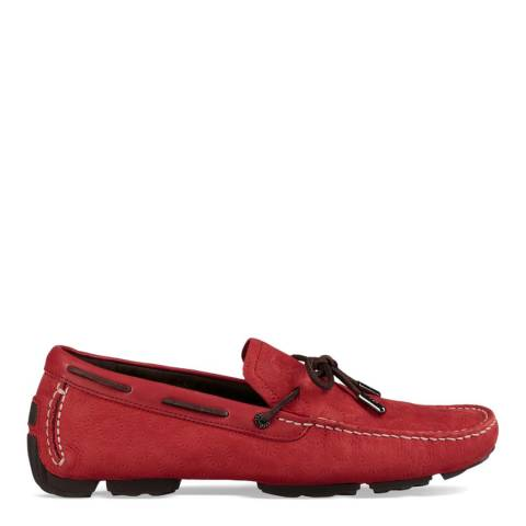 UGG Red Bel Air Emboss Slip On Driver