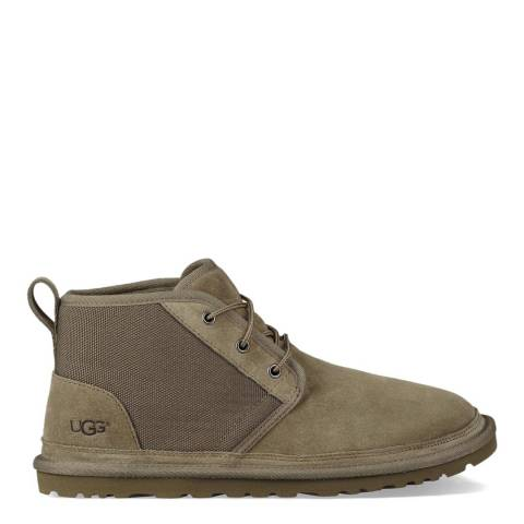 UGG Moss Green Neumel Unlined Leather Boot