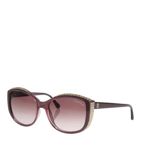 Roberto Cavalli Women's Violet / Gold Roberto Cavalli Sunglasses 56mm