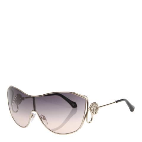 Roberto Cavalli Women's Gold / Grey Roberto Cavalli Sunglasses