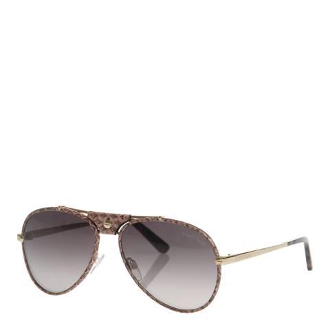 Roberto Cavalli Women's Gold / Beige Roberto Cavalli Sunglasses 59mm