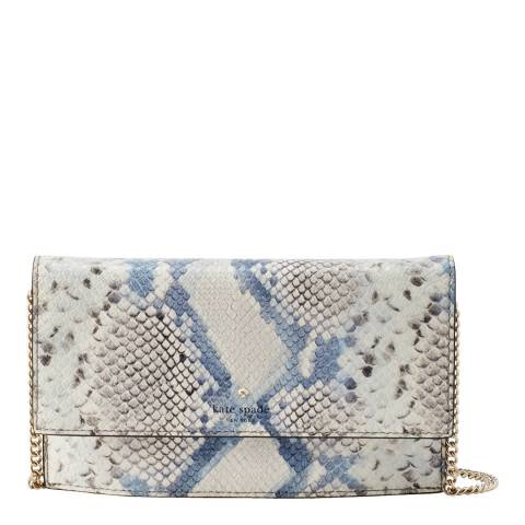 Kate Spade Snake-Embossed Hayes Street Brennan Leather Pouch