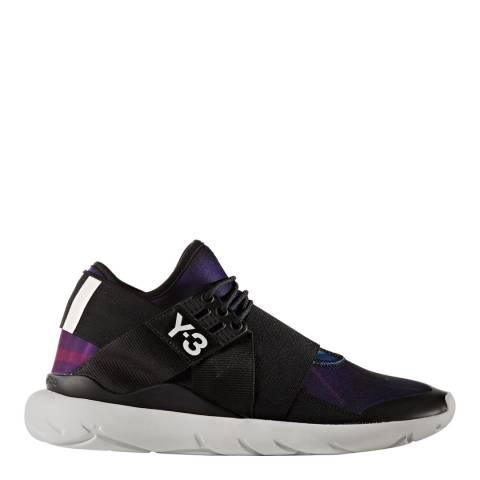 adidas Y-3 Purple Futuristic Y-3 Qasa Elle Lace Sneakers