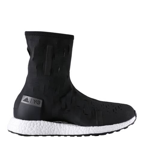 adidas Y-3 Black Y-3 Sport Approach High Sock Boots