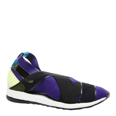 adidas Y-3 Deep Purple & Black Y-3 Dansu Boost Sneakers