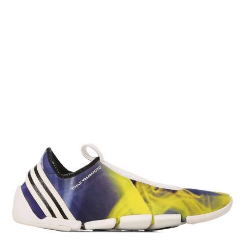 adidas Y-3 Yellow & Blue Techno Y-3 Mei II Stretch Sneakers