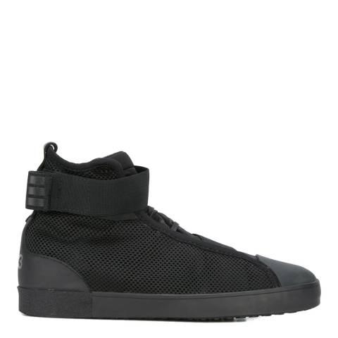 adidas Y-3 Black Y-3 Loop Court Hi-Top Sneakers