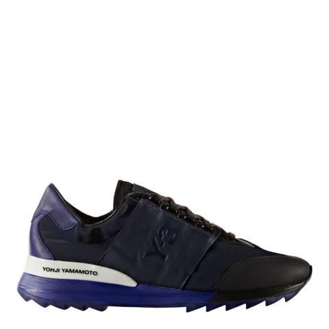 adidas Y-3 Navy Blue Y-3 Rhita Sport Sneakers