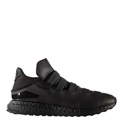 adidas Y-3 Black Leather Y-3 Zazu Sneakers