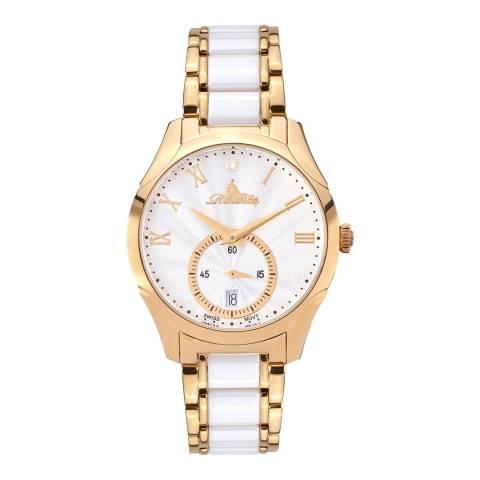 Richtenburg Women's Redgold White Stainless Steel Quartz Watch