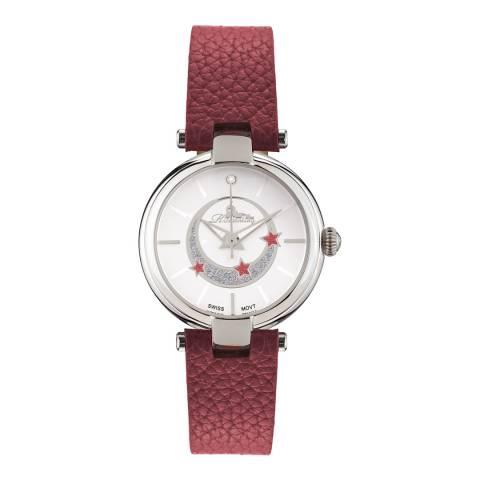 Richtenburg Women's Red Stainless Steel Quartz Watch