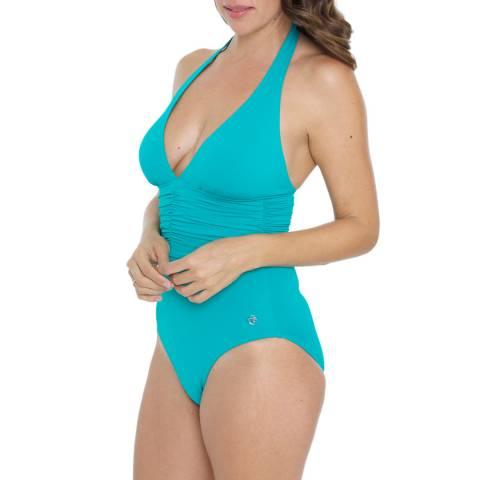 Seaspray Jade Halter Swimsuit