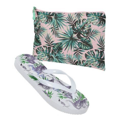 Naf Naf Girls Light Purple Beach Essential Set