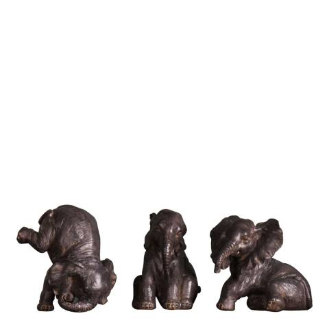 Gallery Bayan Elephant Trio