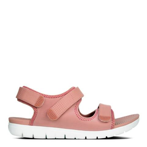 FitFlop Dusky Pink Neoflex Back-Strap Sandals