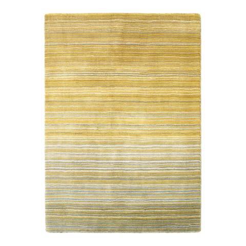 Ochre Fine Stripes Rug 160x230cm Brandalley