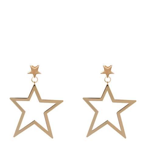 Amrita Singh Gold Tone Star Earrings