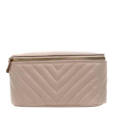 Anna Luchini Beige Leather Waist Bag