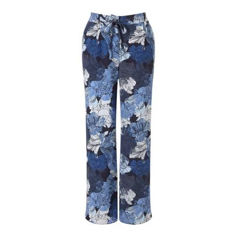 Jigsaw Camo Floral Trousers