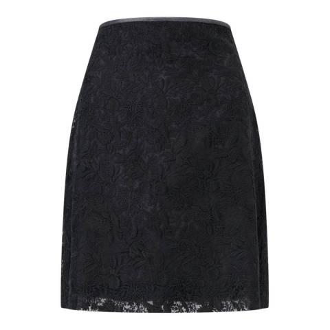 Jigsaw Lace Mini Skirt