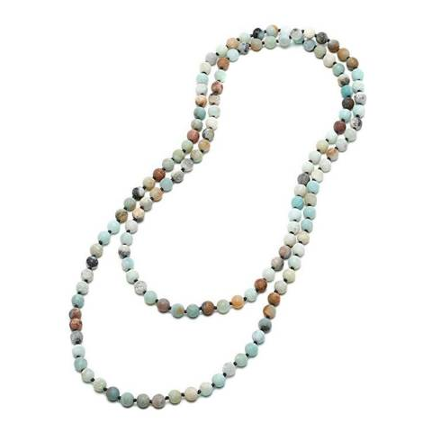 Liv Oliver Blue Endless Amazonite Necklace