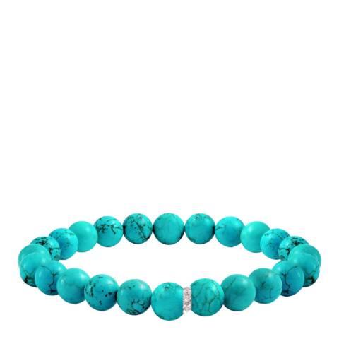 Liv Oliver Turquoise Zirconia Bracelet