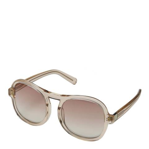 Chloe Women's Peach Chloe Sunglasses 56mm