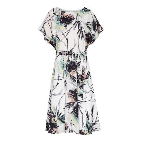Reiss Multi Naomi Printed Dress